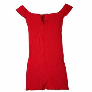 Urban Outfitters Red Bodycon Dress